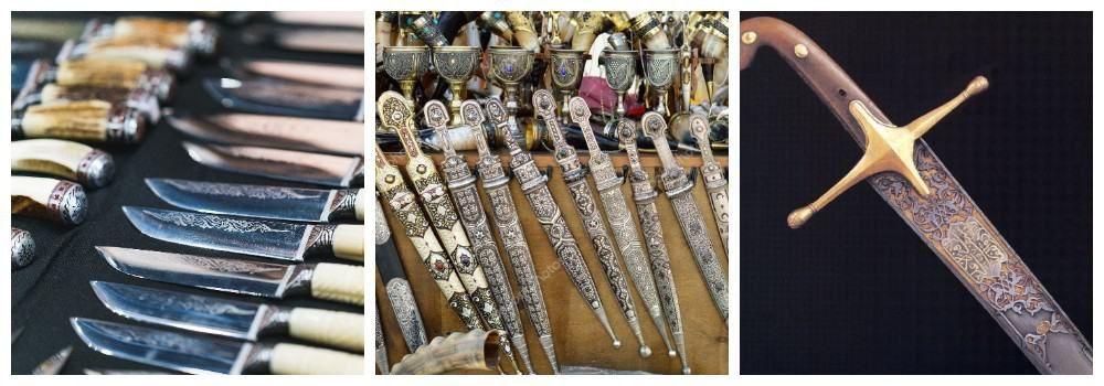 Сувенирное оружие из Грузии