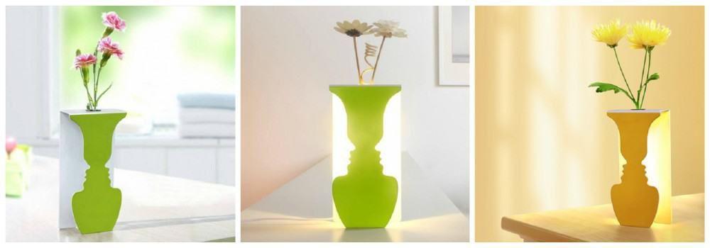 Лампа в виде вазы в подарок