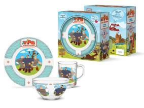 Набор детской посуды Priority КРС-848 Три богатыря от 802 руб