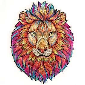 Unidragon деревянный пазл «Таинственный лев» KS (А3) от 3 490 руб