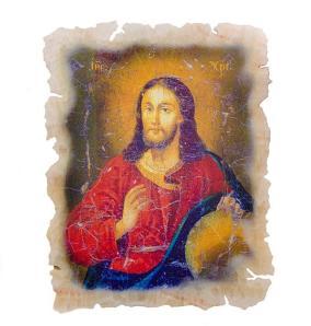 """Икона """"Иисус"""" на ониксе от 9 600 руб"""