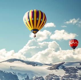 Полет на воздушном шаре (2 взрослых + 1 ребенок) цена от 11 990 руб
