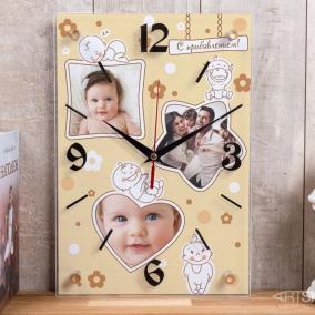 """Настенные часы """"С прибавлением!"""" цена от 1 990 руб"""