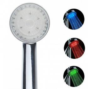 Светодиодная насадка на душ Led-душ цена от 1 090 руб