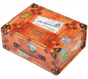"""Подарочная коробка-трансформер """"Чемодан"""" цена от 169 руб"""