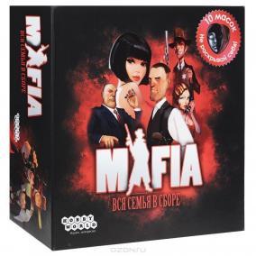 Hobby World Настольная игра Мафия Вся семья в сборе (2-е издание) цена от 1 990 руб