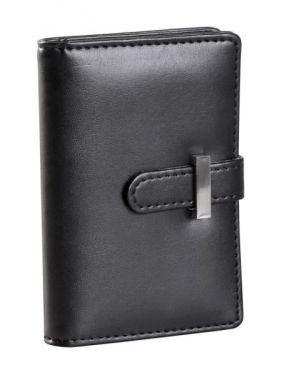 Футляр для пластиковых карт, черный, иск. кожа цена от 440 руб