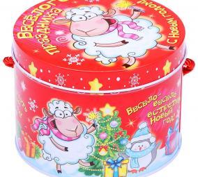 """Подарочная упаковка """"Веселого праздника!"""" цена от 170 руб"""
