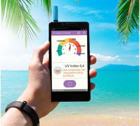 Детектор ультрафиолетового излучения для смартфона цена от 1 323 руб