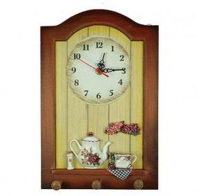 Коллаж-часы «Розы» (3 крючка) цена от 1 583 руб