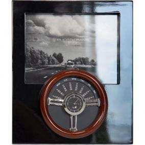 Фоторамка с рулем, часами и вечным календарем цена от 2 297 руб