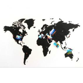 "Карта мира ""World Map True Puzzle Black"", 100x60 cm от 3 390 руб"