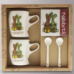 """Подарочный набор """"Rabbits"""" цена от 1 090 руб"""