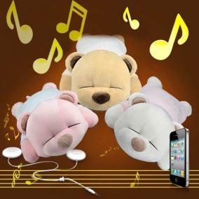 Музыкальная подушка Медведь цена от 2 750 руб