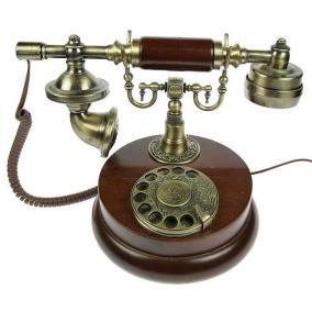 Телефон-ретро из дерева цена от 7 400 руб