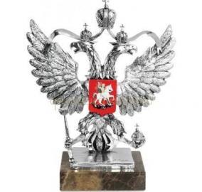 "Скульптура ""Герб России"" серебро цена от 23 300 руб"
