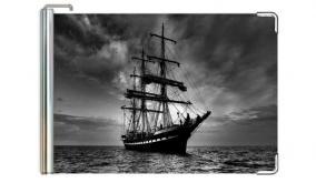 """Кожаный зажим для денег """"Корабль"""" цена от 720 руб"""