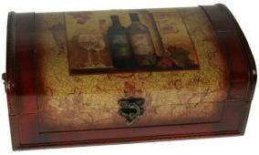 """Шкатулка под бутылку """"Сундучок"""" цена от 2 850 руб"""