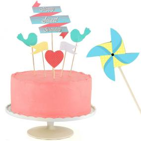 "Набор украшений для торта ""Sweet cake"" цена от 630 руб"
