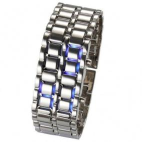 "Диодные LED часы-браслет ""Самурай"" цена от 519 руб"