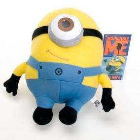 Мягкая игрушка Миньон Стюарт из Гадкий Я (Minion Stuart) цена от 450 руб