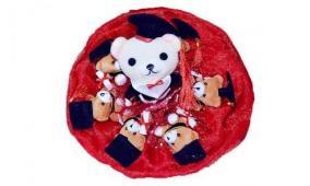 "Букет из мягких игрушек ""7 медвежат"" (арт.B291) цена от 1 390 руб"