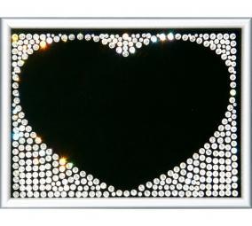 Картина Swarovski «Рамка-сердце» цена от 3 300 руб