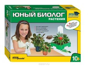 """Научно-познавательный набор """"Юный биолог. Растения"""" цена от 1 562 руб"""