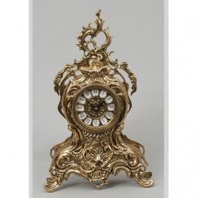 """Часы из бронзы """"Сан-Себастьян"""", цвет золотой цена от 13 400 руб"""