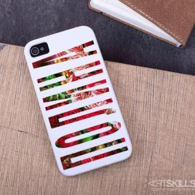 """Именной чехол для iPhone """"Очарование"""" цена от 990 руб"""