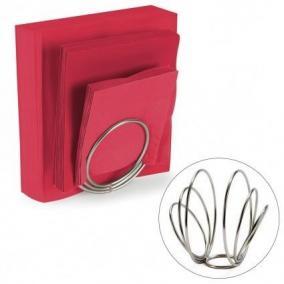 Салфетница Rings никель цена от 890 руб