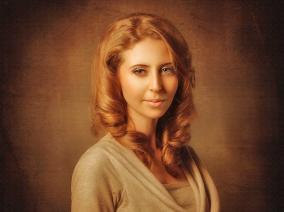 Портрет по фото на холсте, А1 цена от 2 500 руб