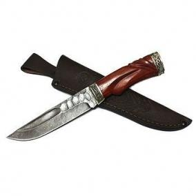"""Нож из дамасской стали """"Путник"""" цена от 7 600 руб"""