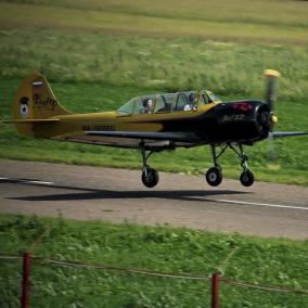 Пилотаж на Як-52 (20 минут + видеосъемка) цена от 7 500 руб