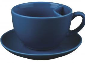 Чашка с кармашком для пакетика и блюдце от 750 руб