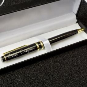 "Именная ручка с гравировкой ""Бизнес"" цена от 790 руб"