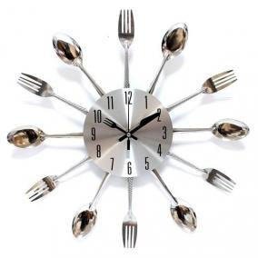 """Часы """"Вилки и ложки"""" цена от 1 380 руб"""