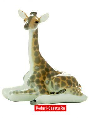 """Скульптура """"Жирафенок"""", Императорский фарфоровый завод цена от 800 руб"""