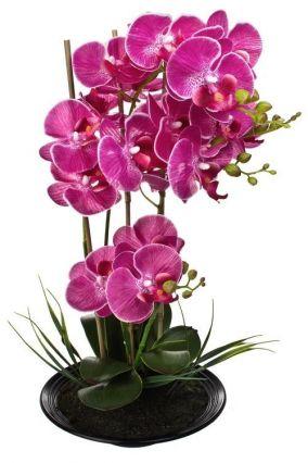 """Композиция декоративная """"Яркая орхидея"""" цена от 2 630 руб"""