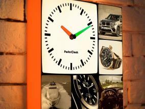 Световые фоточасы в стиле Сепия цена от 4 320 руб