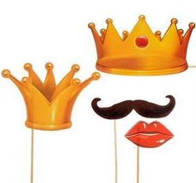 """Набор фотобутафории """"Король и Королева"""" цена от 199 руб"""