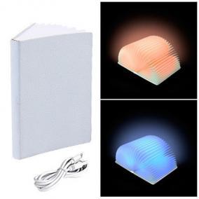 """Книга-лампа """"Book lamp"""" цвет обложки белый цена от 4 482 руб"""
