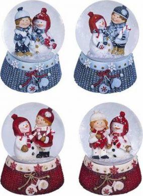 """Снежный шар """"Новогодняя парочка"""" цена от 1 290 руб"""