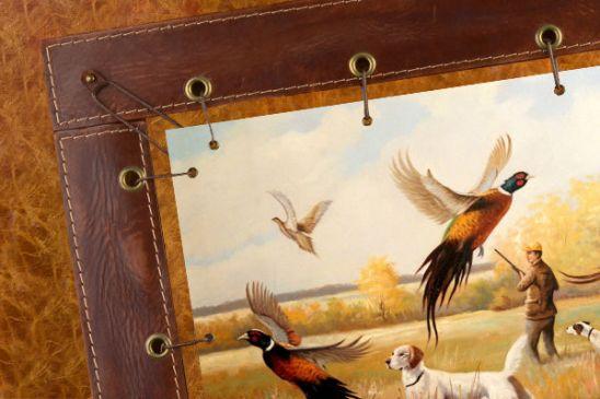 Картины охота на фазана