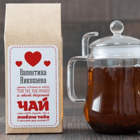 """Чёрный чай """"Признание"""" цена от 590 руб"""