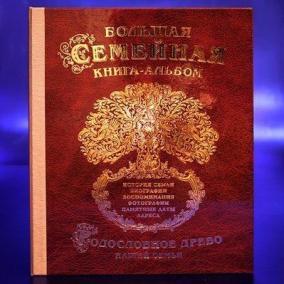 Большая семейная книга-альбом (Стандарт) цена от 3 190 руб