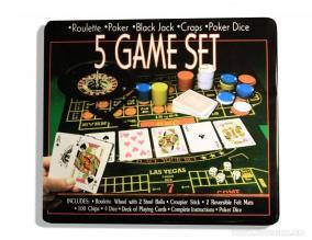 """Игровой набор """"Казино"""" 5 в 1 цена от 1 590 руб"""