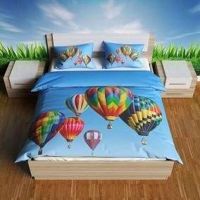 """Прикольное постельное белье """"Воздушные шары"""" цена от 5 399 руб"""