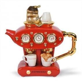 Чудо чайник «Двойной эспрессо», красный цена от 8 610 руб
