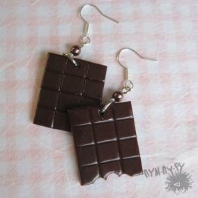 """Серьги """"Шоколадки"""" цена от 280 руб"""